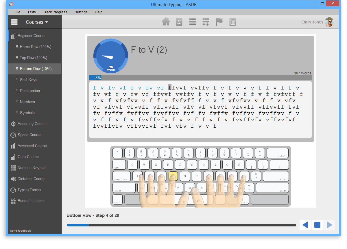 typing app for windows 10